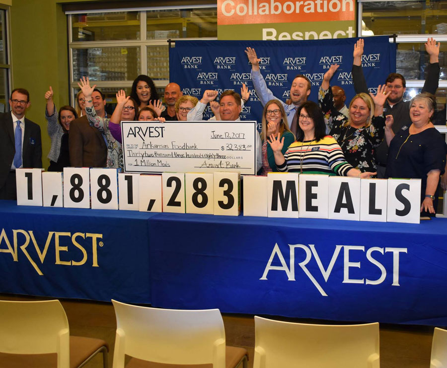 Arvest One Million Meals | Public Relations | Sells Agency